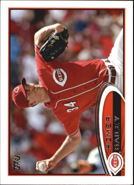 2012 Topps Mini #659 Homer Bailey