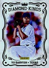 2012 Panini National Convention Diamond Kings #BK1 Yu Darvish