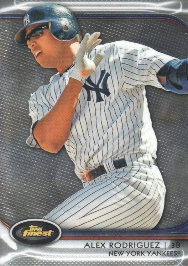 2012 Finest #2 Alex Rodriguez