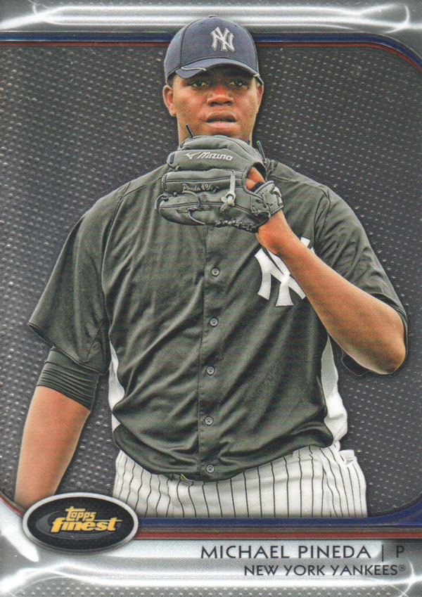 2012 Finest #3 Michael Pineda