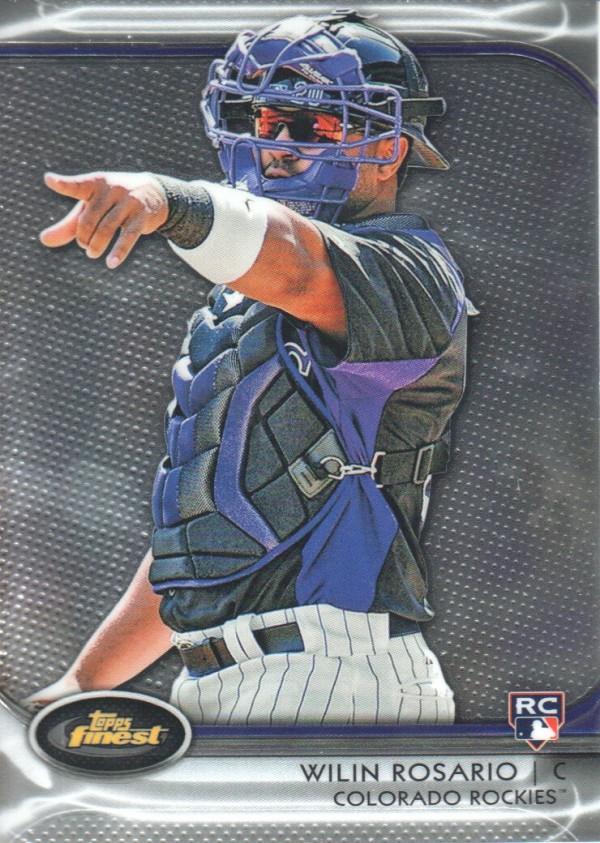 2012 Finest #16 Wilin Rosario RC