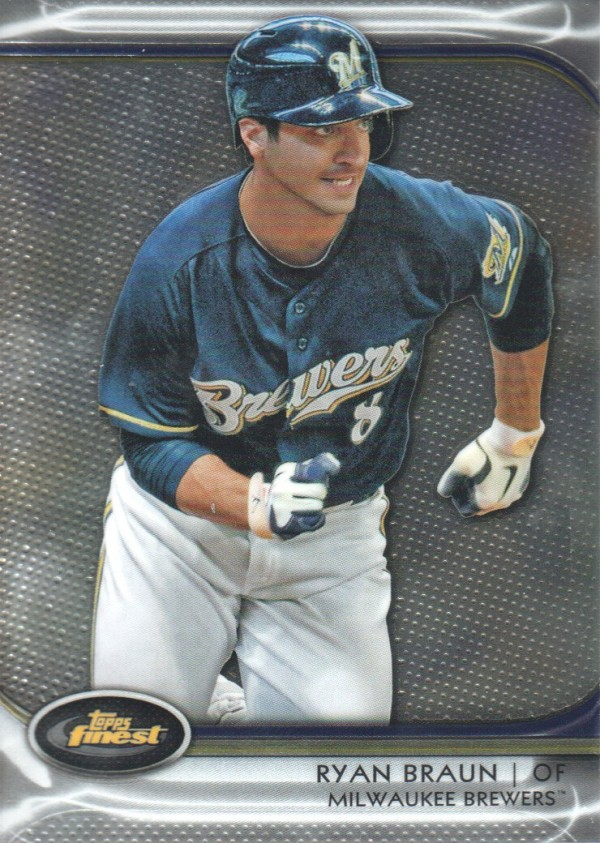 2012 Finest #20 Ryan Braun