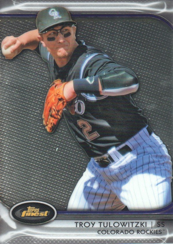 2012 Finest #25 Troy Tulowitzki