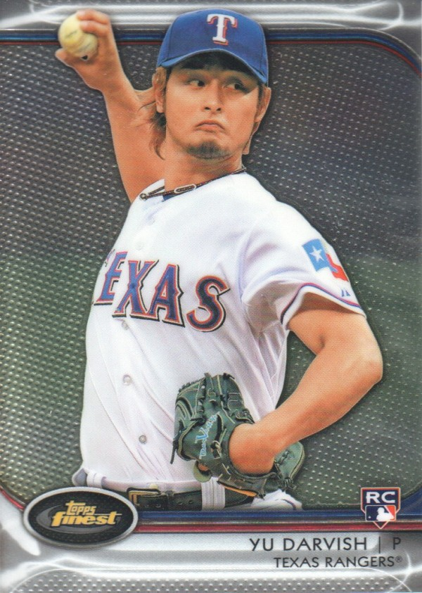 2012 Finest #35 Yu Darvish RC