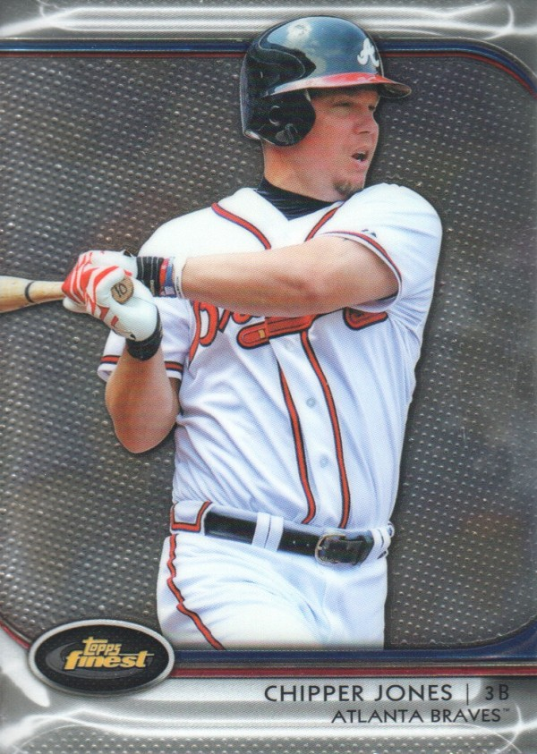 2012 Finest #58 Chipper Jones