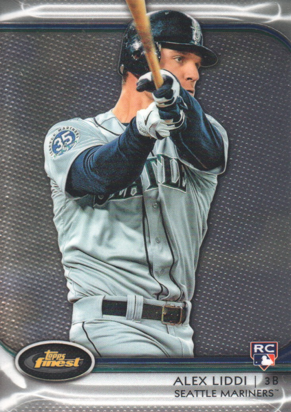 2012 Finest #99 Alex Liddi RC