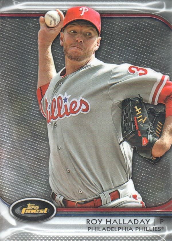 2012 Finest #100 Roy Halladay