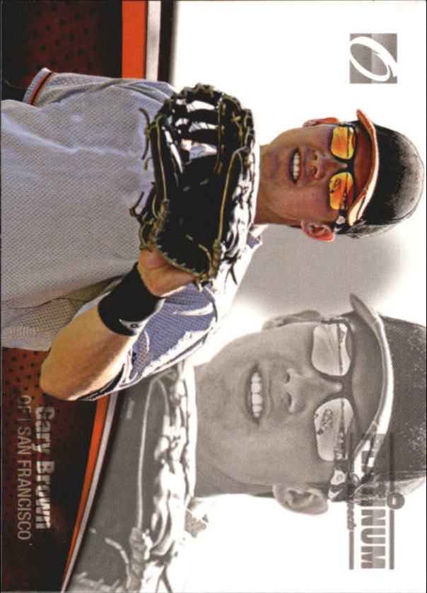 2012 Onyx Platinum Prospects #PP9 Gary Brown