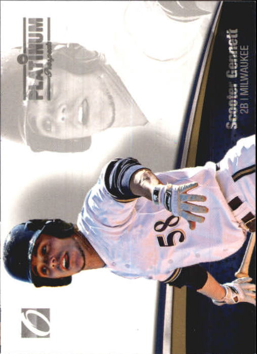 2012 Onyx Platinum Prospects #PP22 Scooter Gennett