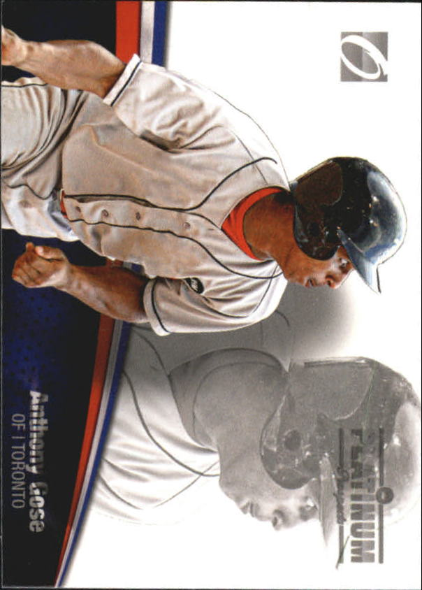 2012 Onyx Platinum Prospects #PP23 Anthony Gose