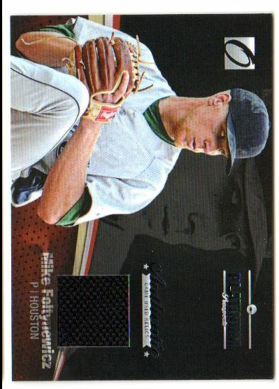 2012 Onyx Platinum Prospects Game Used #PPGU8 Mike Foltynewicz/100