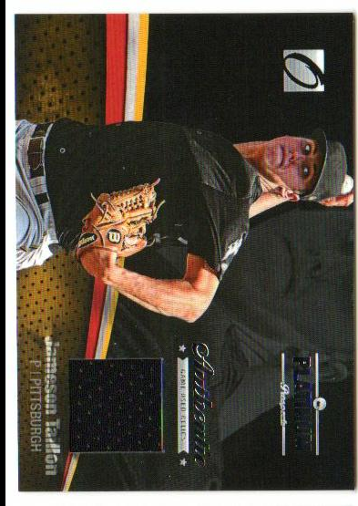 2012 Onyx Platinum Prospects Game Used #PPGU20 Jameson Taillon/470 *