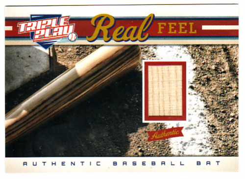 2012 Triple Play #296 Real Feel Bat