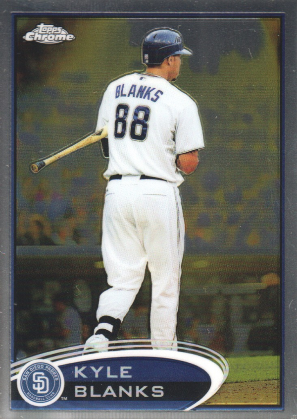 2012 Topps Chrome #81 Kyle Blanks