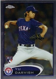 2012 Topps Chrome #151A Yu Darvish Arm Back RC