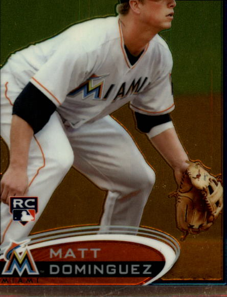 2012 Topps Chrome #159 Matt Dominguez RC