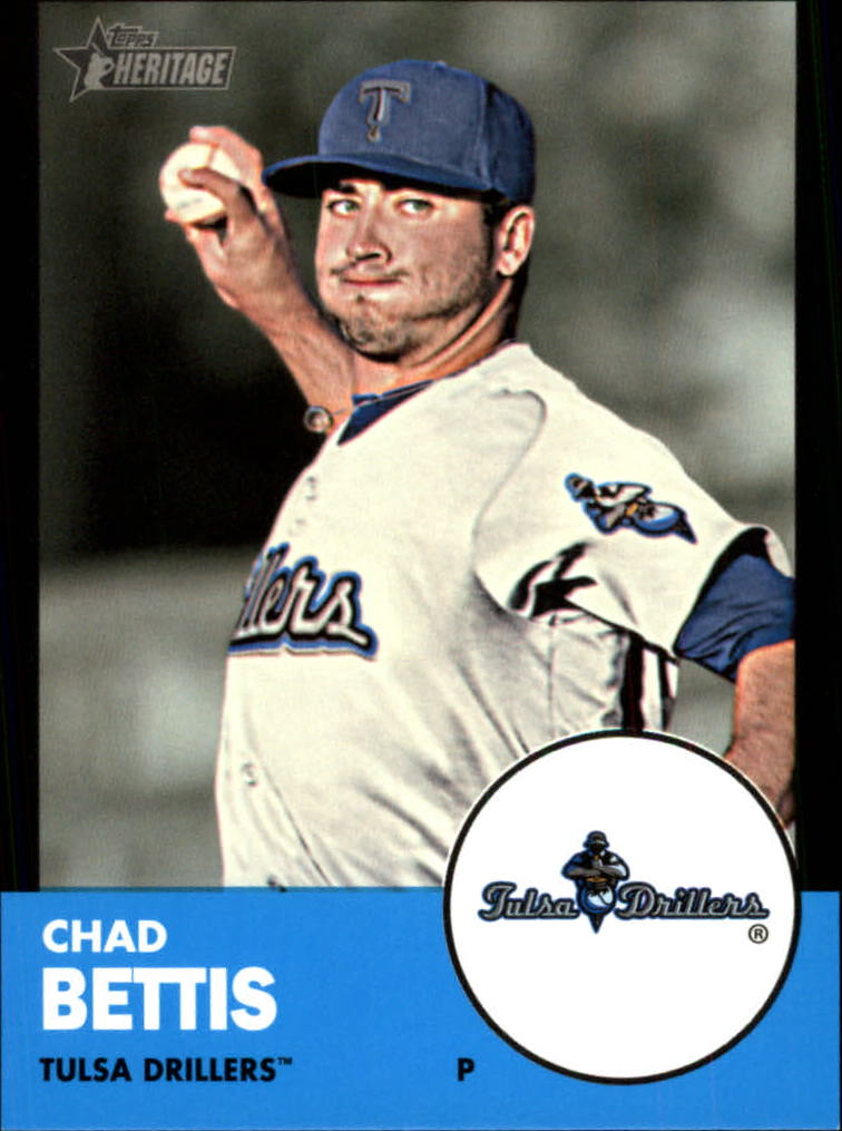2012 Topps Heritage Minors Black #168 Chad Bettis