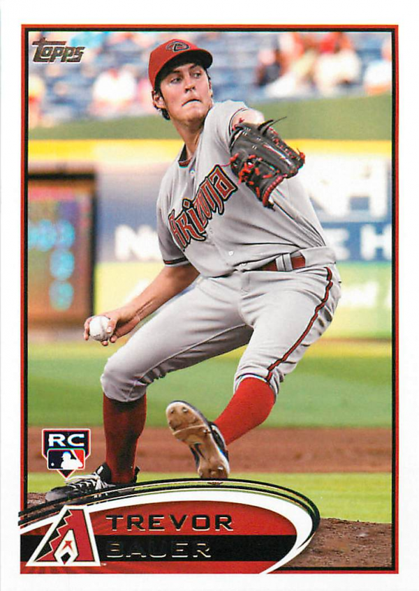 2012 Topps Update #US213 Trevor Bauer RC