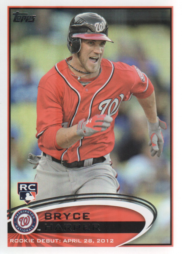 2012 Topps Update #US183 Bryce Harper RC