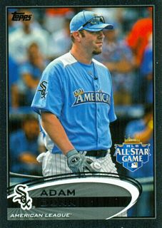 2012 Topps Update Black #US76 Adam Dunn
