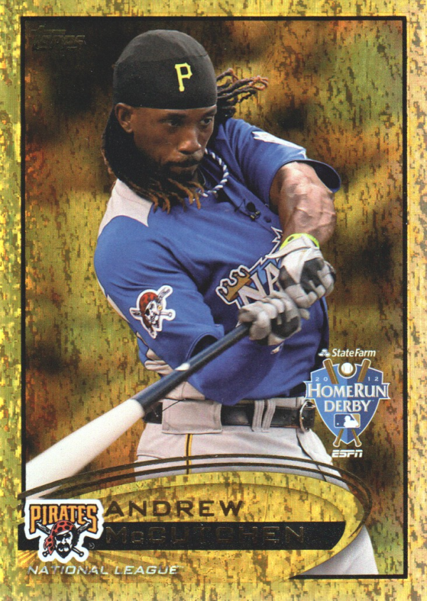 2012 Topps Update Gold Sparkle #US9 Andrew McCutchen