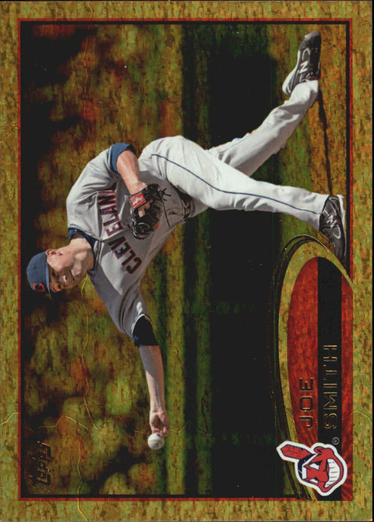 2012 Topps Update Gold Sparkle #US17 Joe Smith
