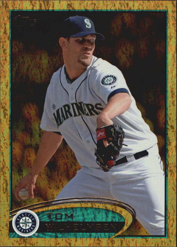 2012 Topps Update Gold Sparkle #US18 Tom Wilhelmsen