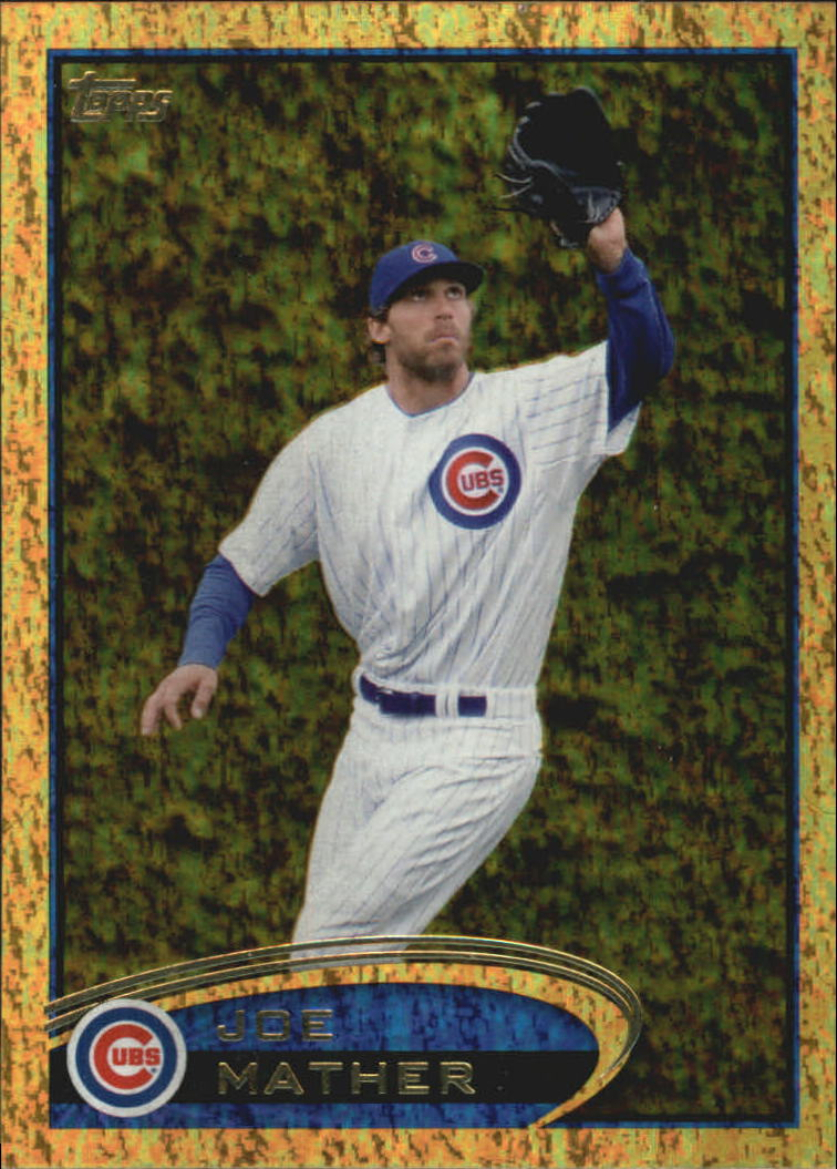 2012 Topps Update Gold Sparkle #US25 Joe Mather
