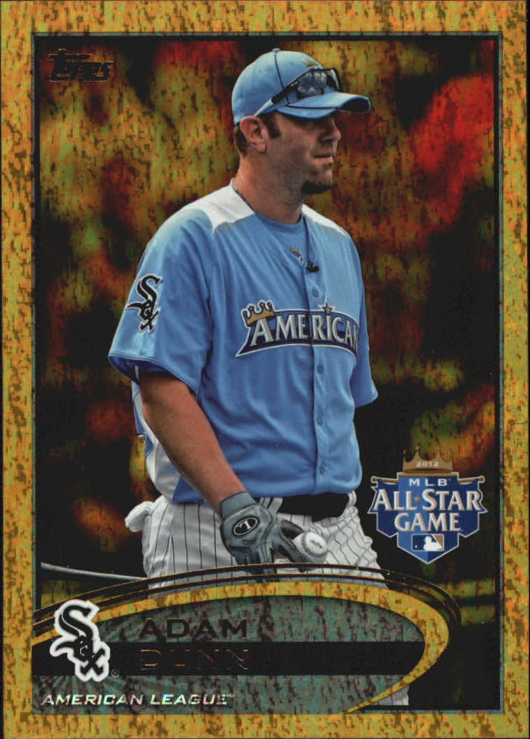 2012 Topps Update Gold Sparkle #US76 Adam Dunn