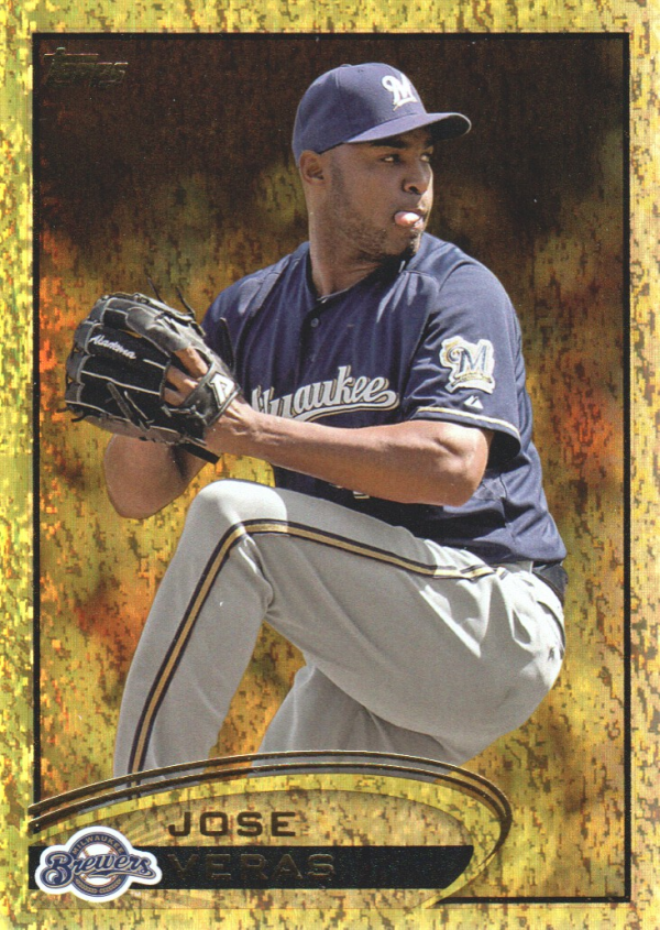 2012 Topps Update Gold Sparkle #US143 Jose Veras