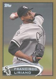 2012 Topps Update Gold #US1 Francisco Liriano