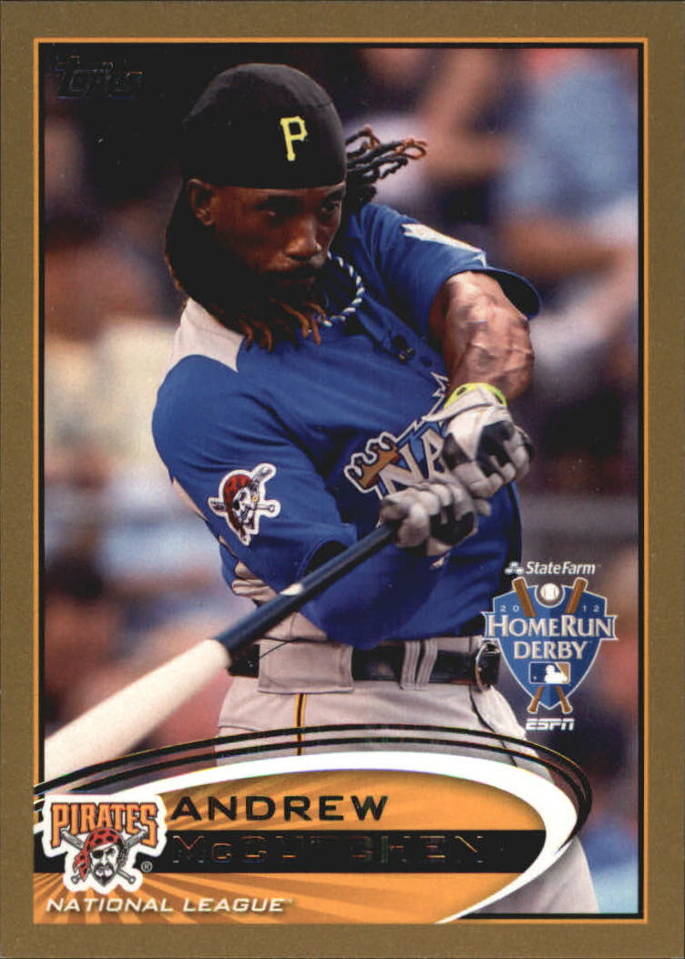 2012 Topps Update Gold #US9 Andrew McCutchen