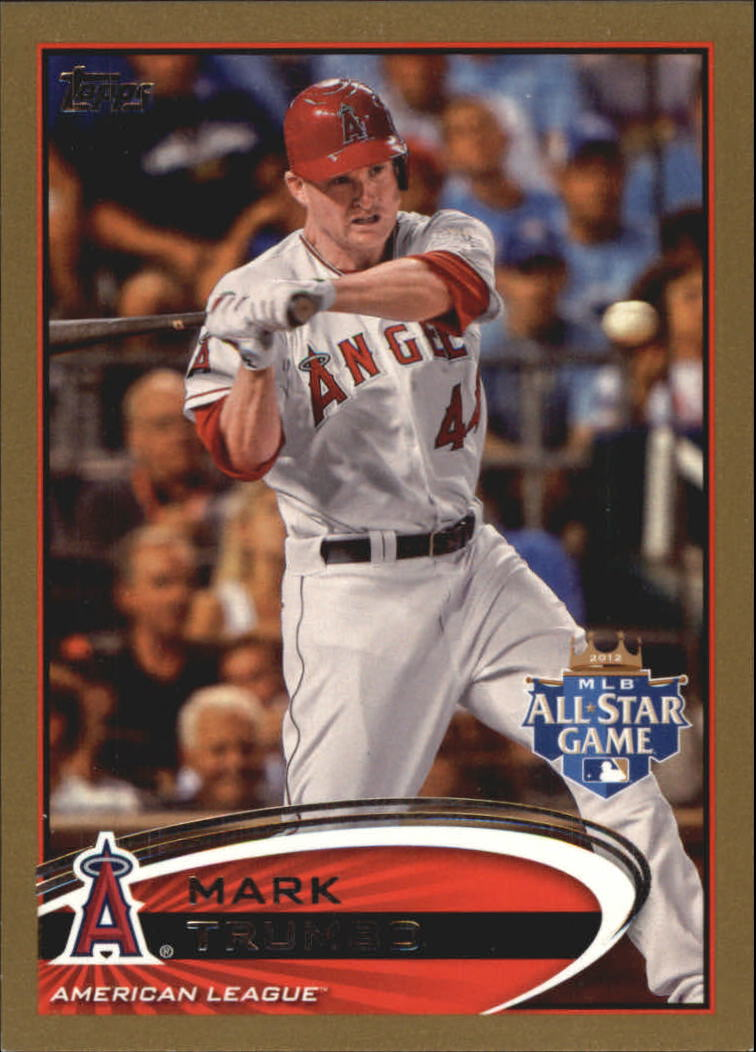 2012 Topps Update Gold #US10 Mark Trumbo