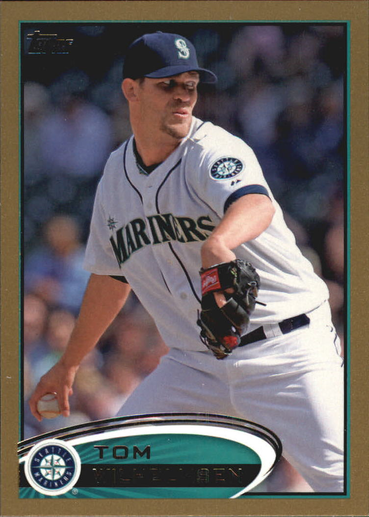 2012 Topps Update Gold #US18 Tom Wilhelmsen