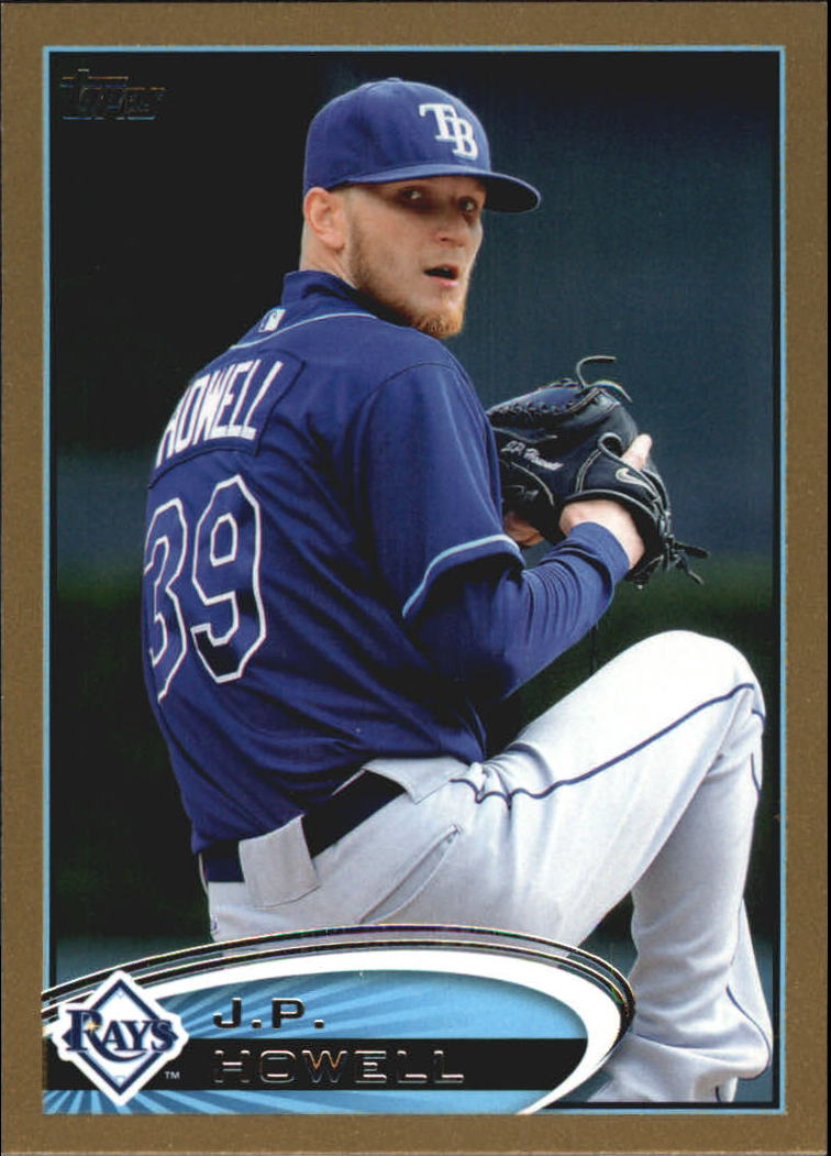 2012 Topps Update Gold #US24 J.P. Howell