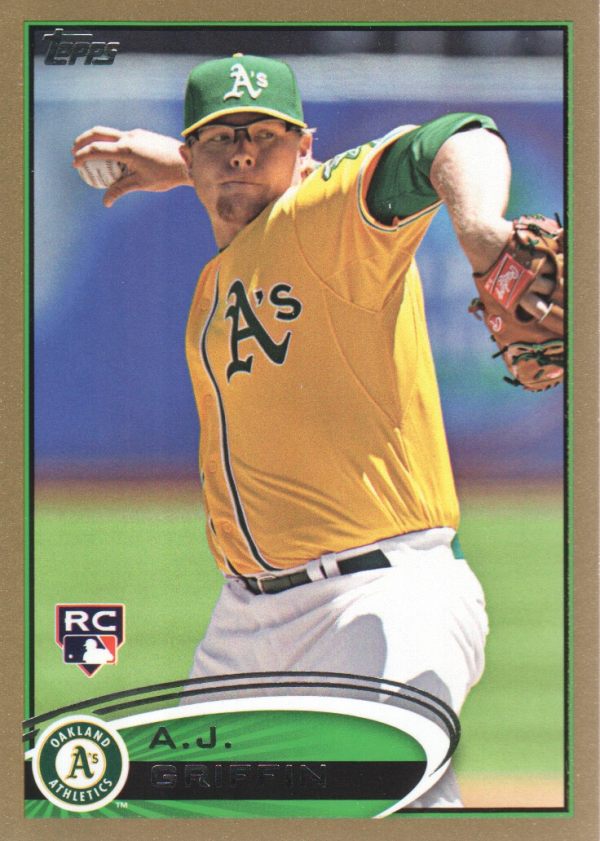 2012 Topps Update Gold #US34 A.J. Griffin