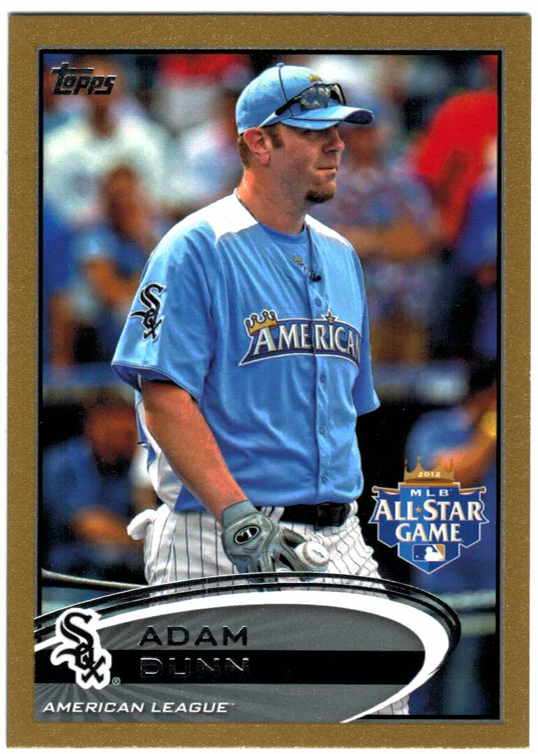 2012 Topps Update Gold #US76 Adam Dunn
