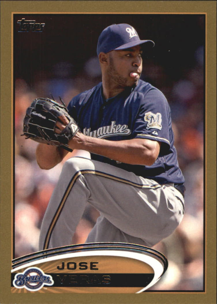 2012 Topps Update Gold #US143 Jose Veras