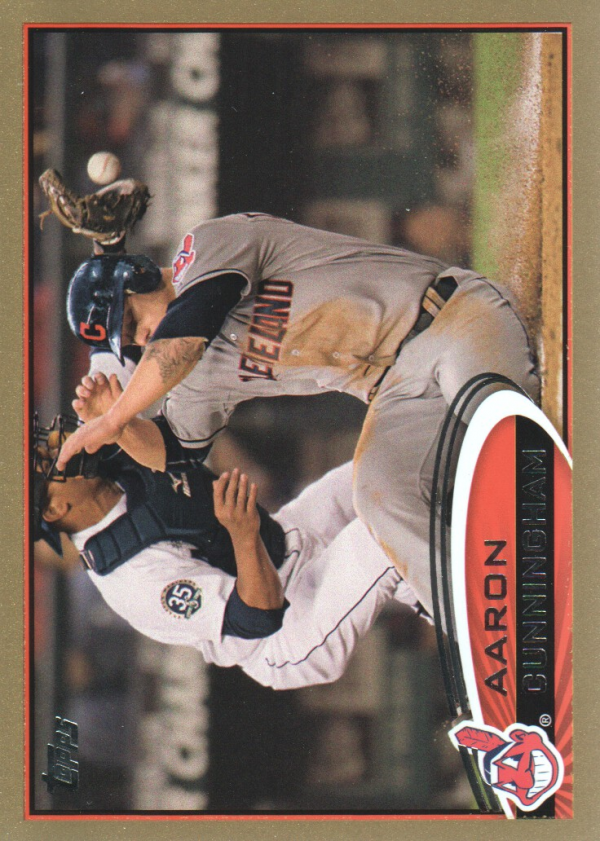 2012 Topps Update Gold #US228 Aaron Cunningham