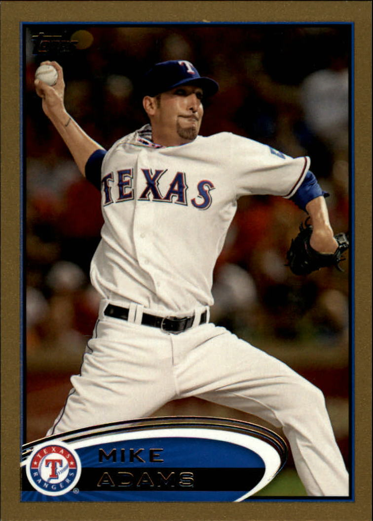 2012 Topps Gold #8 Mike Adams