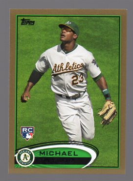 2012 Topps Gold #36 Michael Taylor