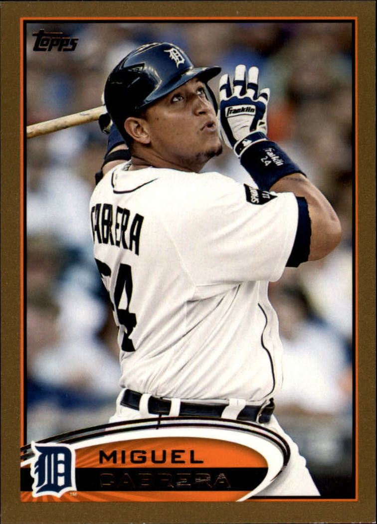 2012 Topps Gold #200 Miguel Cabrera