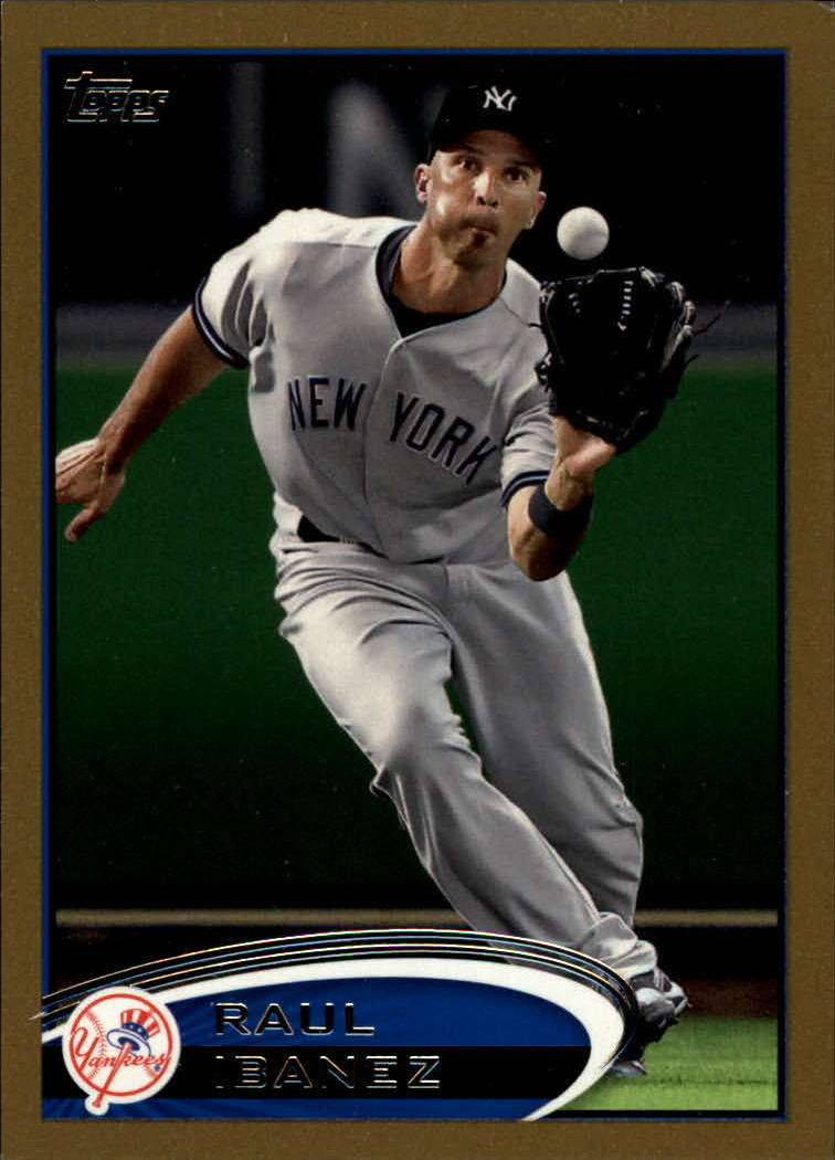 2012 Topps Gold #554 Raul Ibanez