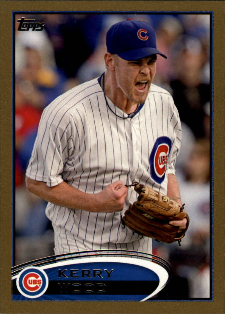 2012 Topps Gold #574 Kerry Wood
