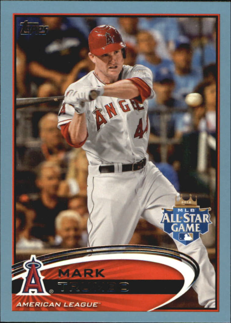 2012 Topps Update Wal-Mart Blue Border #US10 Mark Trumbo
