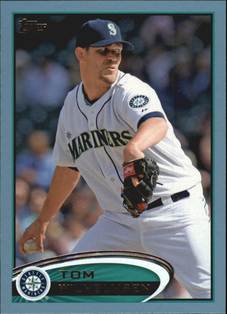 2012 Topps Update Wal-Mart Blue Border #US18 Tom Wilhelmsen
