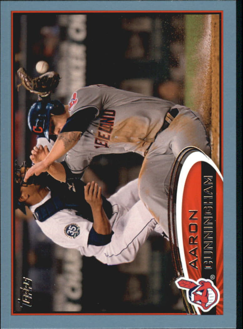 2012 Topps Update Wal-Mart Blue Border #US228 Aaron Cunningham