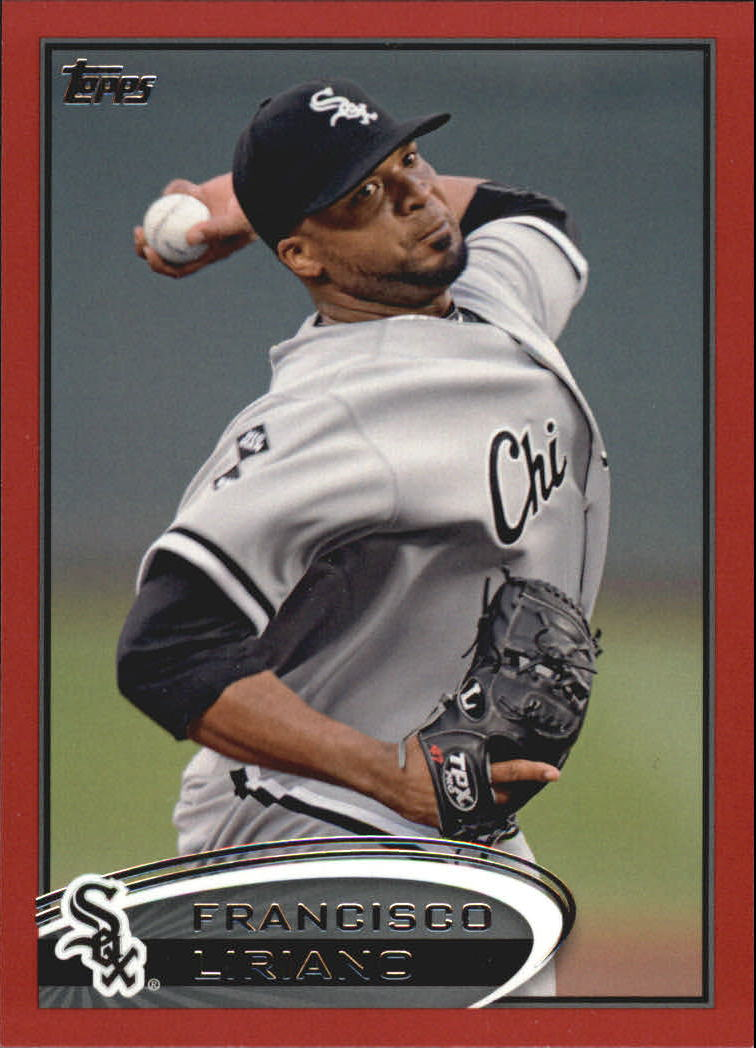 2012 Topps Update Target Red Border #US1 Francisco Liriano