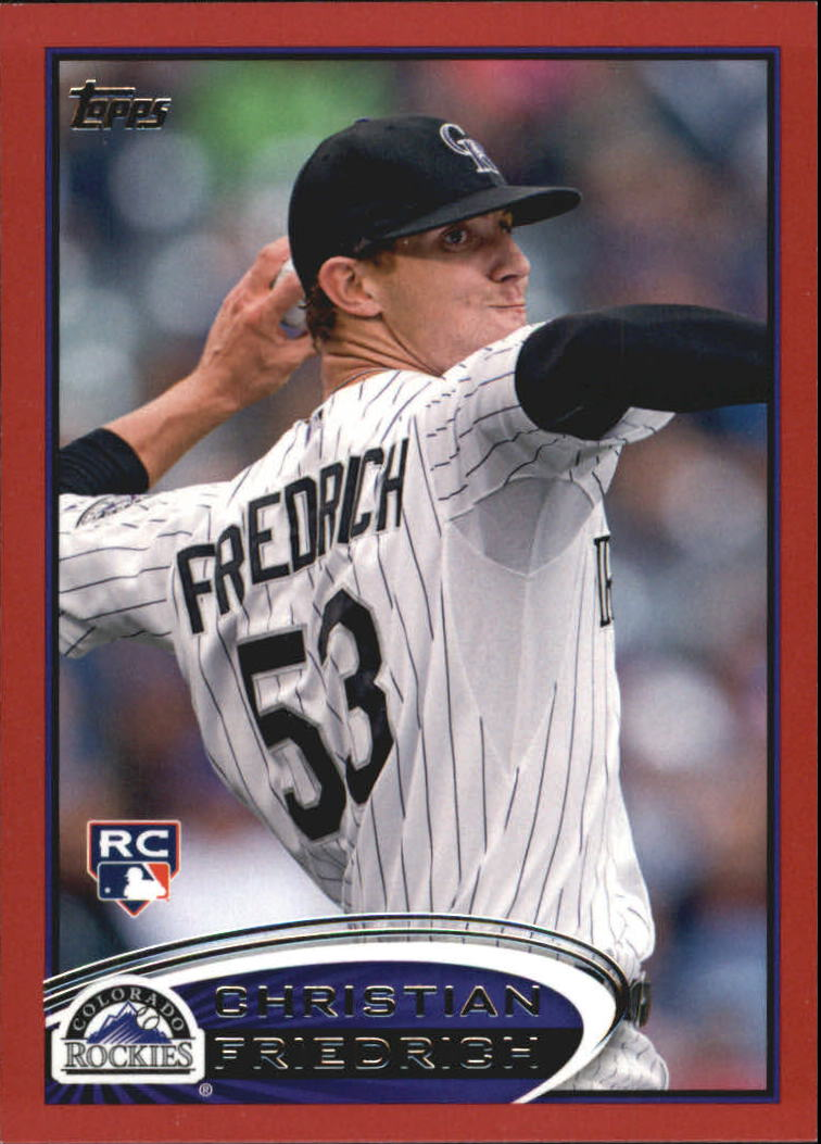 2012 Topps Update Target Red Border #US20 Christian Friedrich