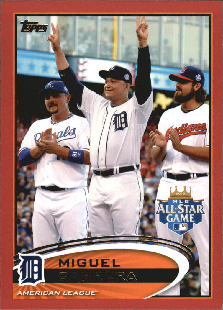 2012 Topps Update Target Red Border #US246 Miguel Cabrera